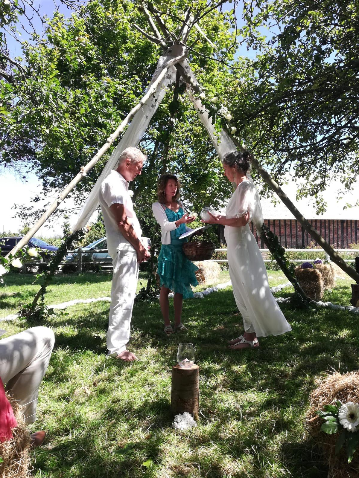 Heloïse Lesage - mariage spirirtuel le havre